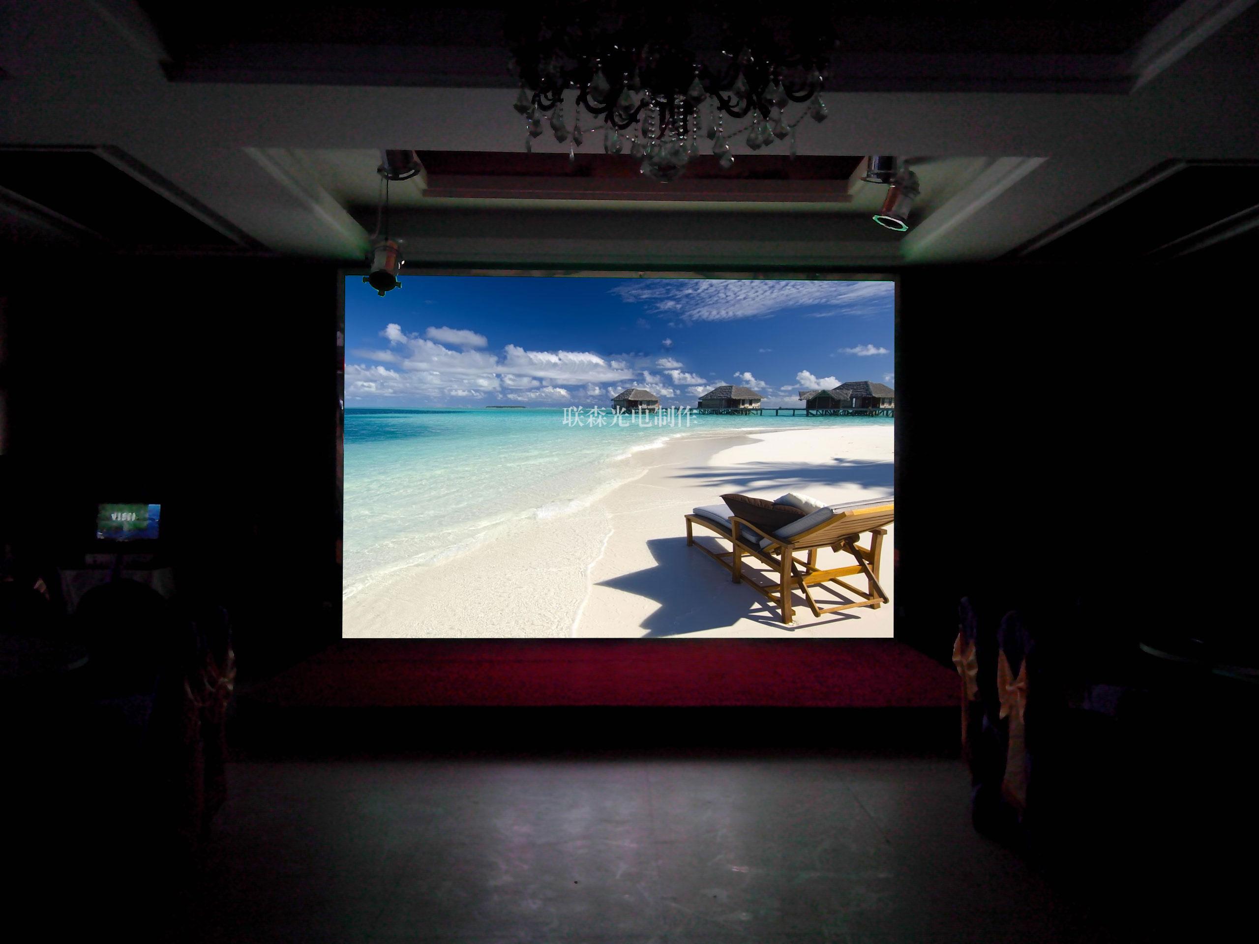p6led室内全彩显示屏-深圳市联森光电有限公司